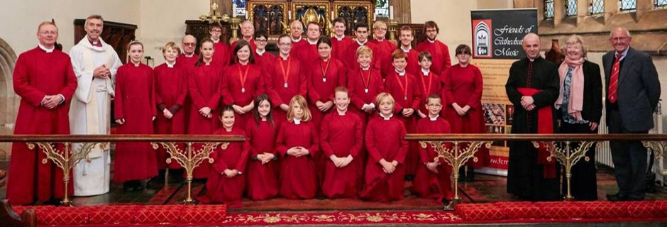 Bangor Cathedral Choir (with girl choristers)